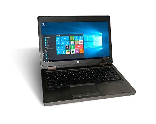 """HP ProBook 6475b - PC portatile HD da 14"""" - AMD A6-4400M 2X 2,7 GHz 4 GB DDR3 320 GB HDD masterizzatore DVD - Windows 10 Home 64Bit (certificato e rigenerato)"""