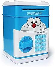 Large Piggy Bank ATM Bank Money Saving Box Kitty Password Box Minions Safe Piggy Bank Smart Voice Money Piggy