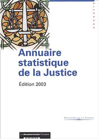Annuaire statistique de la Justice