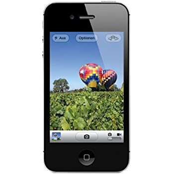 "Apple iPhone 4S - Smartphone libre iOS (pantalla 3.5"", cámara 8 Mp, 16 GB, Dual-Core 1 GHz, 512 MB RAM), negro"
