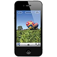 "Apple iPhone 4S - Smartphone libre iOS (pantalla 3.5"", cámara 8 Mp, 16 GB, Dual-Core 1 GHz, 512 MB RAM), negro"