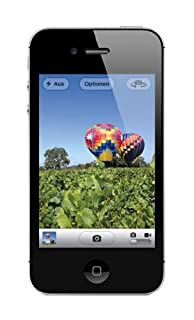 "Apple iPhone 4S, 3,5"" Display, 16 GB, 2011, Schwarz (B005UEF678) 