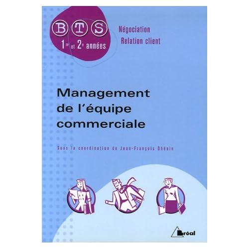 Management de l'équipe commerciale BTS Négociation-Relation client 1e et 2e années
