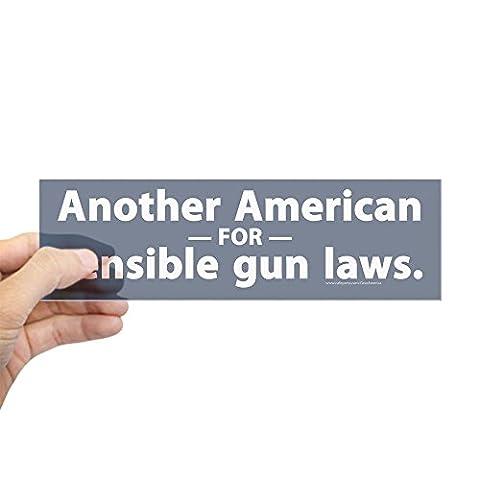 CafePress - Sensible Gun Laws Bumper Sticker - 10