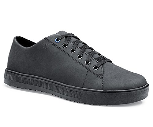 Shoes for Crews 36277-46/11 Style Old School Low Rider III Men's Slip Resistant Trainers, Size 46 EU, Black