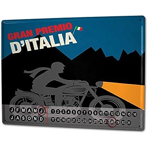 Calendario perpetuo Biker Retrò Gran Premio (Perpetuo Premio)