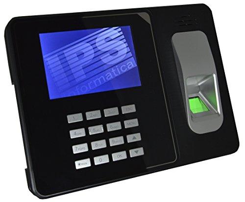 RILEVATORE PRESENZE CON IMPRONTA DIGITALE E RFID - CERTIFICATO CE- MENU E SOFTWARE IN ITALIANO E NR. 10 BADGE OMAGGIO - GARANZIA ITALIA - MONITOR A COLORI 4', USB E LAN