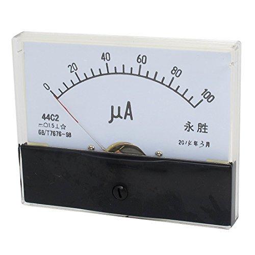 44C2 DC 0-100uA klasse 1.5 Precision Panel Mount Analoge Ampèremeter Meter