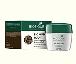 Say goodbye to dull, lifeless hair and hello to healthy, lustrous and fabulous hair with this Biotique Bio Musk Root Fresh Growth Nourishing Treatment Pack. It is enriched with Musk root and Bael extracts, which work together to treat inflammation...