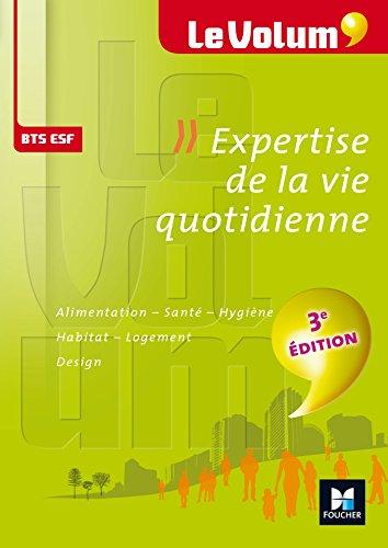 Le Volum' BTS Expertise de la vie quotidienne ESF - Nº4 - 3e édition