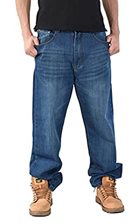 Brinny Herren Jeans Cargo Denim Herren Hosen Hose Chino Clubwear Jeanshose Baggy Hip Hop 08