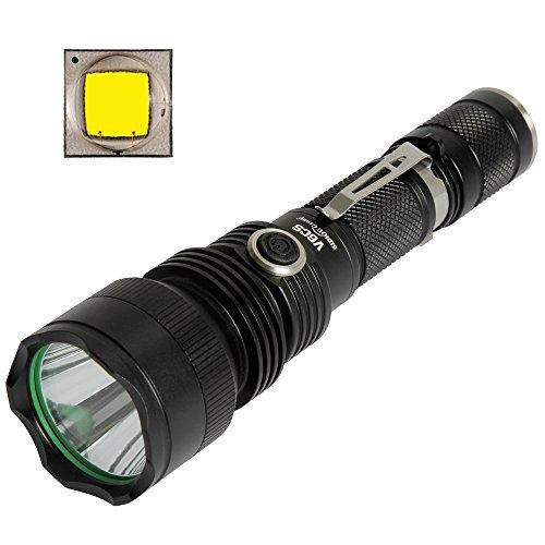 Sidiou Group V6CS CREE XM-L2 bianco freddo 960LM LED Tactical Flashlight Con 1 x 3.7V 3000mAH 18650 Li-ion ricaricabile