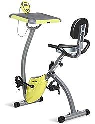 INTEY Bicicleta Estática Plegable de la Resistencia Magnética con la Máquina de la Aptitud del Escritorio Equipo para Gimnasio En Casa
