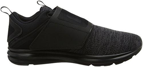 Puma Enzo Strap Knit, Scarpe Sportive Outdoor Uomo Nero (Black-asphalt)