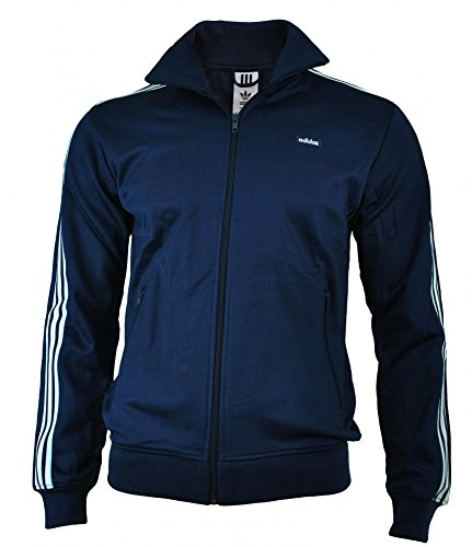 adidas Originals Mens Beckenbauer Track Top in Navy