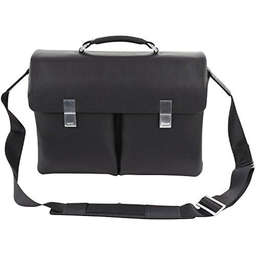 Porsche Design CL2 2.0 BriefBag FMS Aktentasche Leder 42 cm Laptopfach black