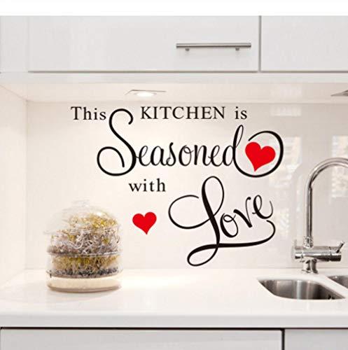 Küche Ist Mit Liebe Gewürzt