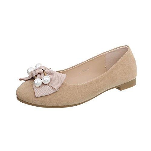 Greatonu Bailarinas Plataforma Elegante Comodida Blanca con Punta Cerrada Para Falda Ballet Mujer Talla 37 EU YpkJrlHA7h