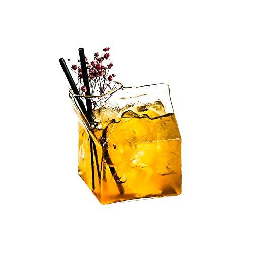 eative quadratische Milchschale, personalisierte Saftschale Cocktailglas 340ml, einzelne Tasse ()