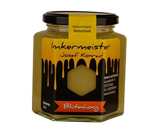 (Blütenhonig (1x460g) im Glas aus Deutschland/Deutscher Imkerhonig Honig)