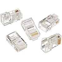 Gembird LC-8P8C-001 RJ45 Transparent wire connector - Wire Connectors (RJ45, Transparent, Gold, RoHS, ISO 9002, 100 pc(s), 14 cm) - Trova i prezzi più bassi su tvhomecinemaprezzi.eu