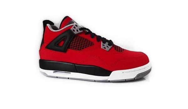 quite nice 778f9 4bbe3 Nike Jordan Air Jordan Grands Enfants 4 Retro (GS) Style   408452-603  Taille   3.5  Amazon.fr  Chaussures et Sacs