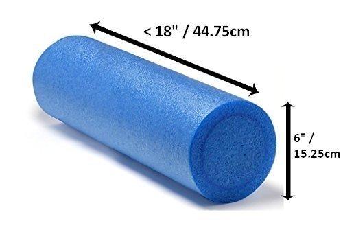 Yoga Rullo, pilates, massaggi, allenamento, esercizio di riabilitazione, - 45 centimetri x 15 centimetri