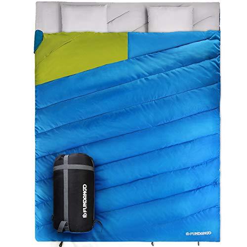 Fundango Saco de Dormir Ligero XL para Camping
