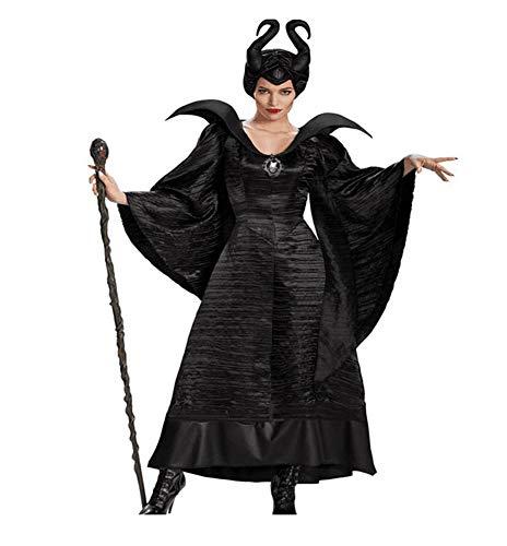 AWSAYS Halloween Cosplay Schlaf Fluch Dark Witch Devil Queen Kostüm Bühnenkostüm Devil-catsuit