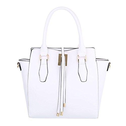 Taschen Handtasche Modell Nr.1 Weiß