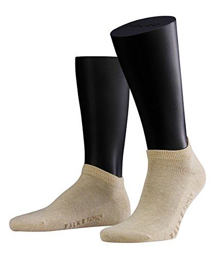 3 Paar Falke Socken 14626 Family Sneaker Sommerlicher Kurzstrumpf, Farbe:Sand Melange 4650;Socken & Strümpfe:43-46