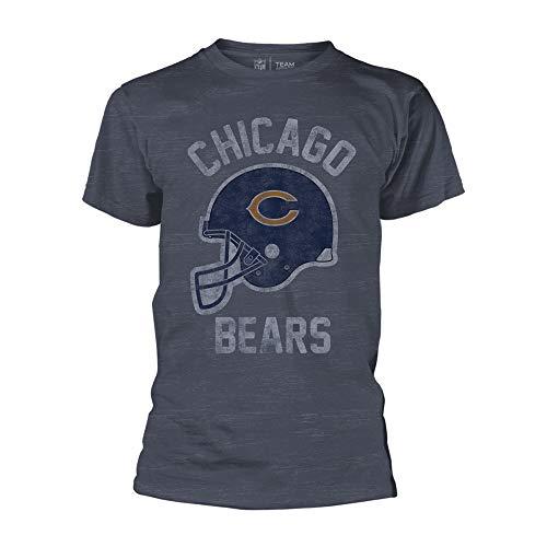 NFL - Chicago Bears - Burn Out - T-Shirt Größe XXL