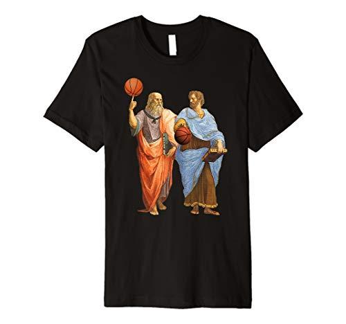 Platon Aristoteles Basketball Sport Philosophie Shirt