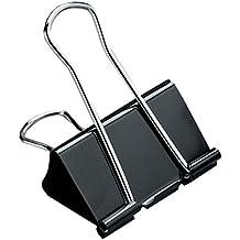 5 Star™ Foldback-Klammern 51mm schwarz Inh.12