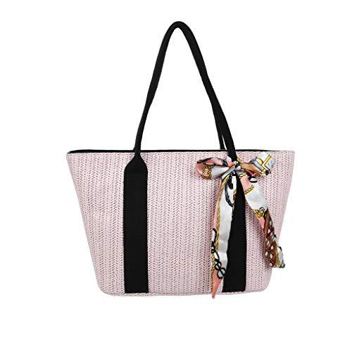 Gras-reiniger (holitie Damen Taschen Shoulder Bag Handtasche Schultertasche Satchel Schulter handbag Rucksack,dame gras weben große kapazität seidentuch handtasche umhängetasche)