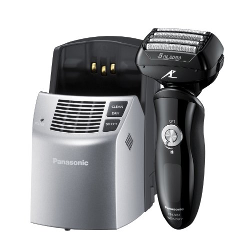 Panasonic ES-LV81-K803 - Afeitadora de 5 hojas (con estación de limpieza), color negro