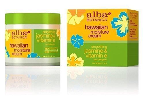 Alba Botanica Hawaii Jasmin & Vitamin E Feuchtigkeit Creme 3Oz 3 Ounces