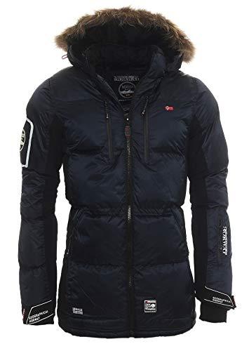 Danone Men 001 Winterjacke von Geographical Norway (L, NAVY/BLACK)