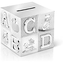 Hucha de cubo, grande, para niños