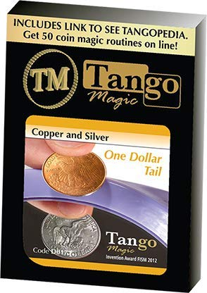 murphys Copper and Silver Dollar (Tails) (D0177) by Tango Magic -