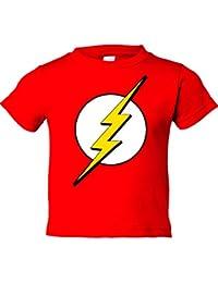Camiseta niño The Flash logo