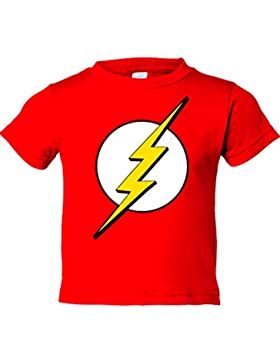 Camiseta niño The Flash logo