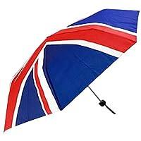 Compact Union Jack Flag Design Umbrella For Outdoor Events