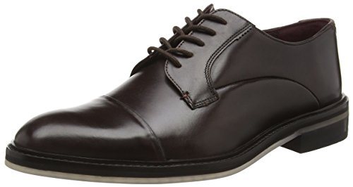 TED BAKER - Aokii, Stringate da uomo, marrone (brown leather), 41