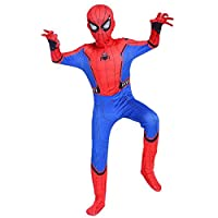 Boys Spider Man Costume Kids Tights Cosplay Outfit Halloween Fancy Dress