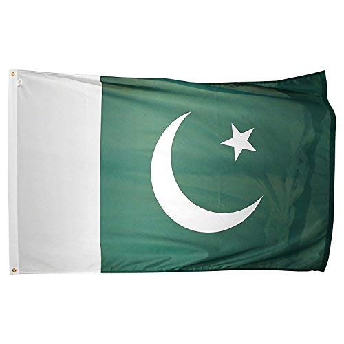 Pakistan Flagge 3 ftx5ft Polyester