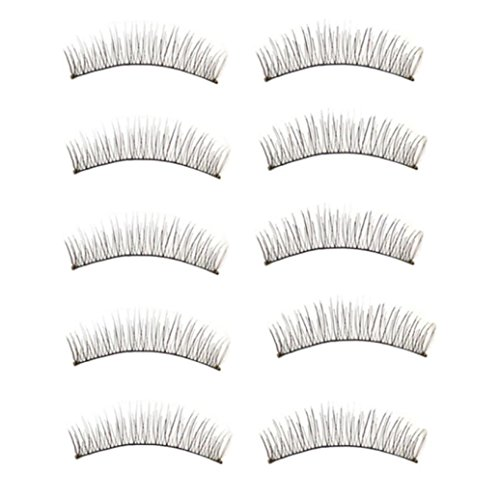Susenstone 10 Paires Longs et Épais Doux à la Main Faux Eye Lash Extensions de Maquillage