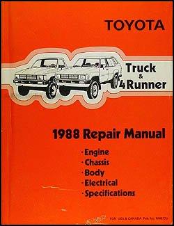 1988 Toyota Truck & 4Runner Repair Manual