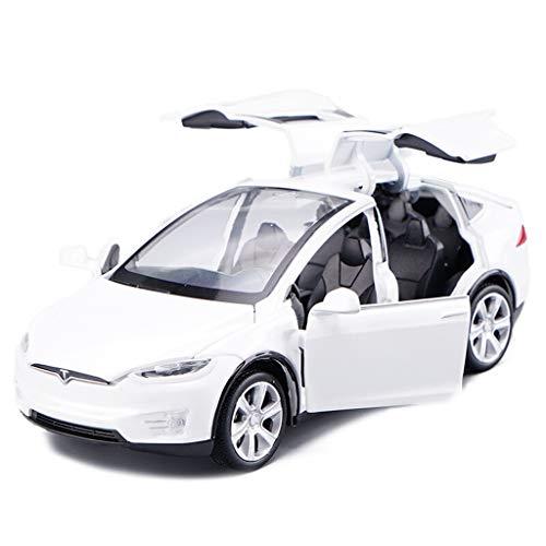 SXET-Modellauto Druckguss Modell Spielzeugauto Tesla 1:32 Simulation Legierung Modellauto Sammlung Modell Dekoration