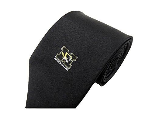Donegal Bay NCAA Missouri Tigers Solid Krawatte, One size, Gold/Schwarz